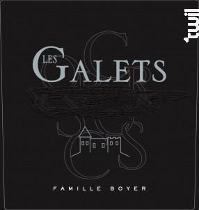 LES GALETS DE L. - Château Du Cros • Famille Boyer - 2018 - Blanc
