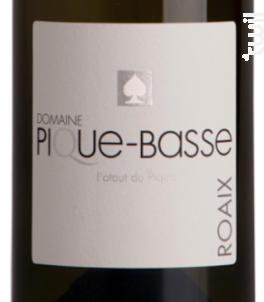 L'ATOUT DU PIQUE - DOMAINE PIQUE-BASSE - 2015 - Blanc