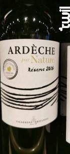 Ardèche par Nature - Vignerons Ardéchois - 2018 - Rouge