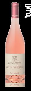 Saint Vincent - Maison Gabriel Meffre - 2018 - Rosé