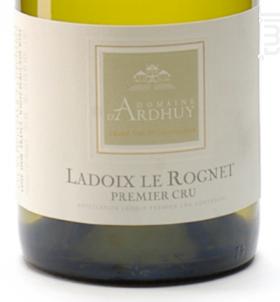 Ladoix 1er Cru Le Rognet - Domaine d'Ardhuy - 2015 - Blanc