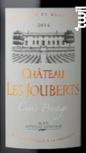 Château Les Jouberts Rouge - Les Vignerons de Tutiac - 2016 - Rouge