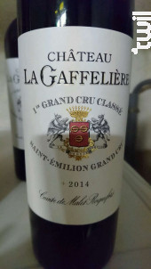 Château La Gaffelière - Château La Gaffelière - 2014 - Rouge