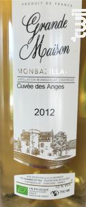 Cuvée des Anges - Château Grande Maison - 2012 - Blanc