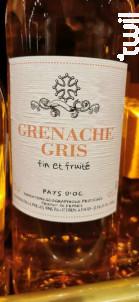Grenache Gris - Les Vins du Littoral - 2018 - Rosé