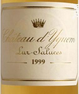 Chateau Yquem (Demie Bouteille) - Château d'Yquem - 1999 - Blanc