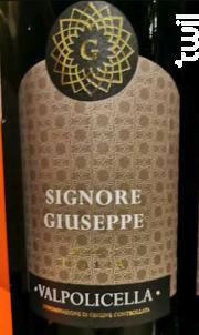Valpolicella - Signore Giuseppe - Non millésimé - Rouge