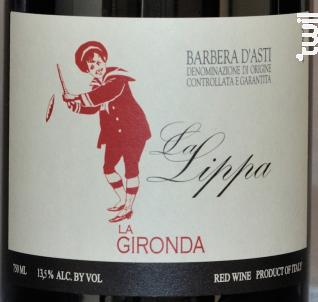 La Gironda Barbera d'Asti La Lippa - La Gironda - 2017 - Rouge