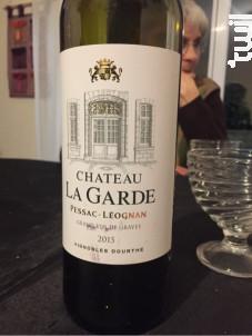Château La Garde - Vignobles Dourthe - Château La Garde - 2014 - Rouge