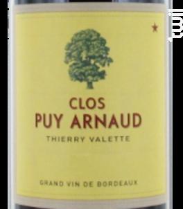 Clos Puy Arnaud - Clos Puy Arnaud - 2016 - Rouge