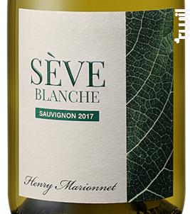 Sève Blanche Touraine Sauvignon - Henry Marionnet - 2017 - Blanc