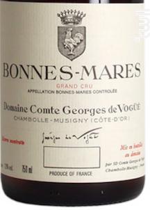 Bonnes-Mares Grand Cru - Domaine Comte Georges de Vogüé - 2018 - Rouge