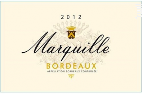 Marquille - Dourthe - 2016 - Blanc
