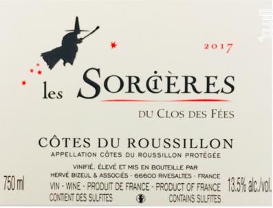 Les Sorcières - Hervé Bizeul - Le Clos des Fées - 2017 - Rouge