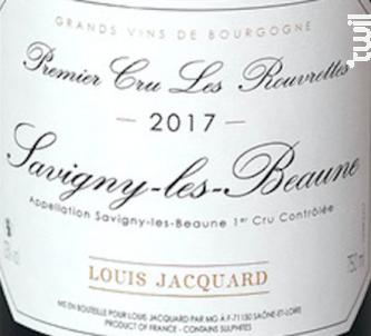 Les Rouvrettes - Louis Jacquard - 2017 - Rouge