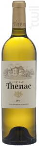 Château Thénac - Château Thénac - 2017 - Blanc