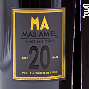 20 Ans - Mas Amiel - Non millésimé - Rouge