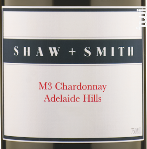 M3 - chardonnay - SHAW & SMITH - 2017 - Blanc