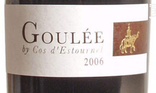 Goulée by Cos d'Estournel - Cos d'Estournel - 2018 - Rouge