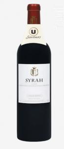 Syrah - Grande Réserve - Vignerons Ardéchois - 2018 - Rouge
