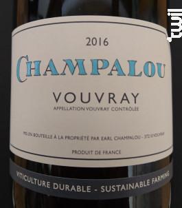 Champalou Classic - Champalou - 2016 - Blanc