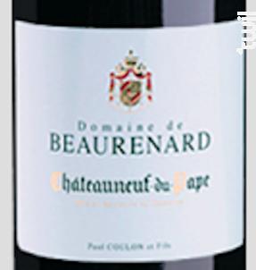 Châteauneuf-du-Pape - Domaine de Beaurenard - 2017 - Rouge