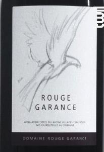 Rouge Garance - Domaine Rouge Garance - 2016 - Rouge