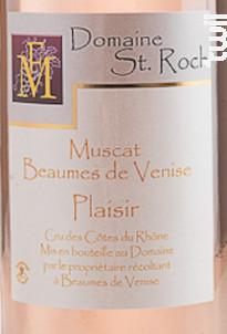 Plaisir - Domaine Saint Roch - Non millésimé - Rosé