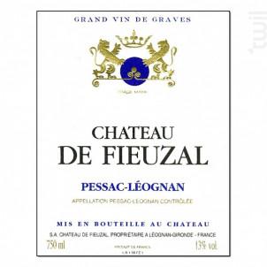 Château de Fieuzal - Château de Fieuzal - 2004 - Blanc