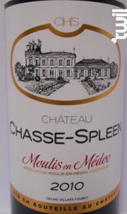 Château Chasse-Spleen - Château Chasse-Spleen - 2010 - Rouge