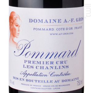 POMMARD LES CHANLINS - Domaine A.F. Gros - 2010 - Rouge