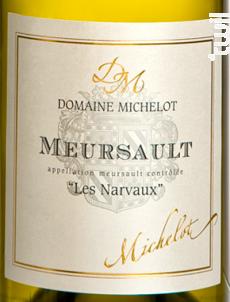 Meursault Les Narvaux - Domaine Michelot - 2011 - Blanc