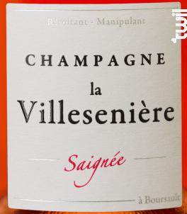 Saignée - Extra Brut - Champagne La Villesenière - 2014 - Rosé