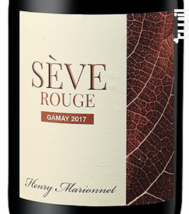Sève Rouge Touraine Gamay - Henry Marionnet - 2017 - Rouge