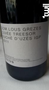 treesor - Domaine Lous Grezes - 2014 - Rouge
