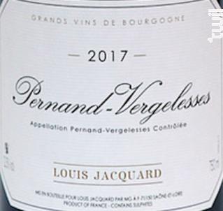 Sous les Cloux - Louis Jacquard - 2017 - Rouge