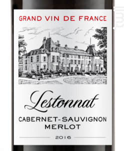 Cabernet Sauvignon - Merlot - Lestonnat - 2016 - Rouge