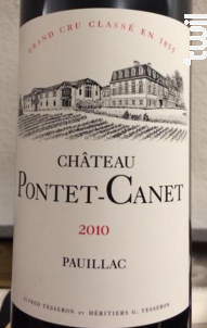 Château Pontet-Canet - Château Pontet-Canet - 2010 - Rouge