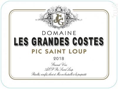 Les Grandes Costes - LES GRANDES COSTES - 2018 - Rouge