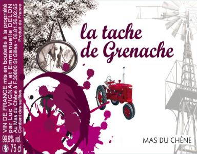 La tache de Grenache - Mas du Chêne - 2017 - Rouge