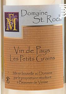 les Petits Grains - Domaine Saint Roch - Non millésimé - Blanc
