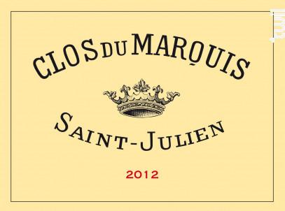 Clos du Marquis - Château Léoville Las Cases - 2012 - Rouge