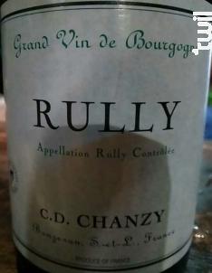 Rully - Maison Chanzy - 2016 - Blanc