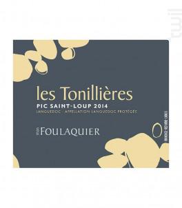 Les Tonillières - Mas Foulaquier - 2015 - Rouge