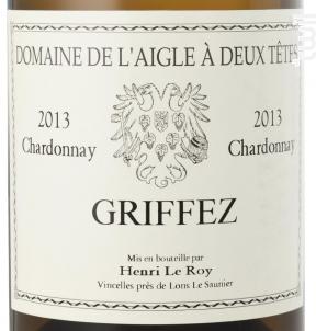 Griffez - Domaine de l'Aigle à deux Têtes - 2018 - Blanc
