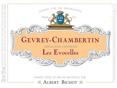 Gevrey-Chambertin Les Evocelles - Albert Bichot - 2018 - Rouge