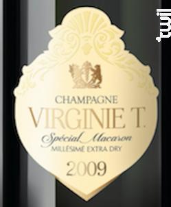 Millésimé 2009 Extra Dry - Champagne VIRGINIE T. - 2009 - Effervescent