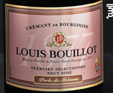 Perle de Molesme Brut Rosé - Domaine Louis Boillot Et Fils - Non millésimé - Effervescent