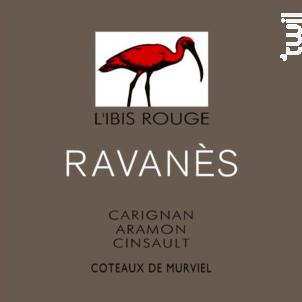 L'Ibis Rouge - Domaine de Ravanès - 2017 - Rouge