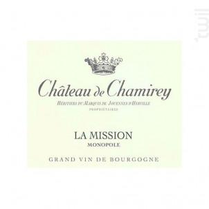 Mercurey 1er Cru La Mission Monopole - Château de Chamirey - 2018 - Blanc